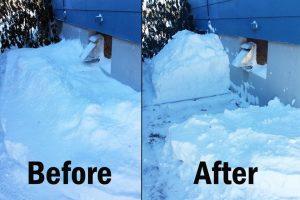 Snow Furnace Vents